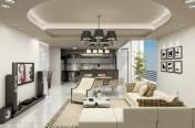 Trần thạch cao phòng khách- M0001